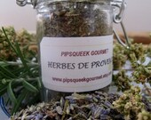 HERBES DE PROVENCE - hand blended - made to order- artisan spice mix - aromatic herbal blend