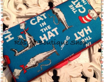 Dr Seuss Travel wipe case/Boy & Girl