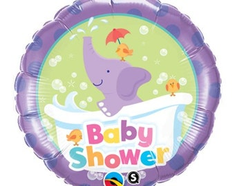 It's A Girl Baby Shower Elephant