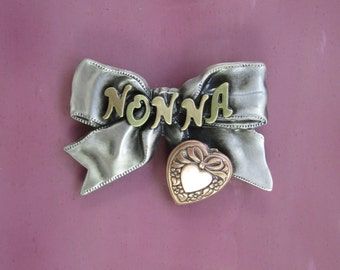 NONNA BROOCH- Nonna Gift- Nonna Jewelry- Gifts for Nonna- Grandmother- Grandmother Gift