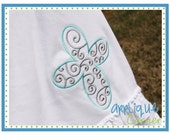 INSTANT DOWNLOAD 1383 Cross Swirl Filled Embroidery applique design in digital format for embroidery machine by Applique Corner