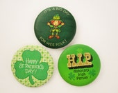 Three Fun St. Patrick's Day Pins - Pins for You and Friends That Aren't So Green - Fun Holiday Pins From Hallmark