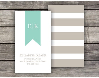 Printable Business Cards / Calling Cards