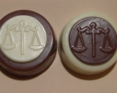 Three Dozen Scales of Justice Chocolate Covered Oreo Law School Graduation Favors