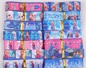 "7/8"" 14yards pretty frozen princess mixed color grosgrain ribbon, Frozen ribbon set Free shipping"
