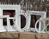 Picture Frames - Made To Order Frames -  Ornate Frame Set - 10 Shabby Chic Picture Frames