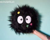 Susuwatari with stars -DIAMETER: 20cm = 8''