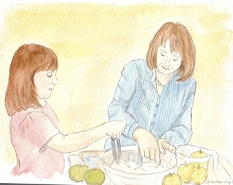 Making an Apple Pie - Pixie Vignette