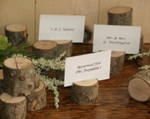 22 Rustic Place Card Holder, Escort Card Holder, Place Holder, Rustic Wedding Decor, Wood Place Card Holder, Rustic Wedding Supplies