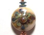 Sassy Silks Lampwork Charm/Small Pendant
