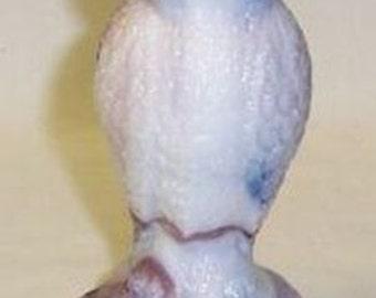 Westmoreland Glass Purple Slag Glass 5 1/2 Inch High Standing POUND OWL