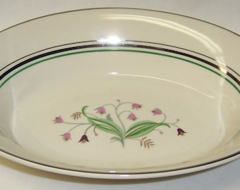 Syracuse China CORALBEL Oval Vegetable or Serving Bowl, Made In America