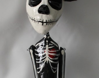 Peter :  Day of the Dead Art Doll