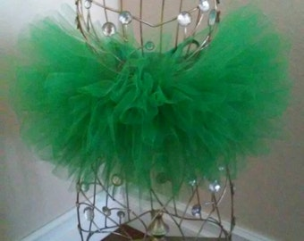 Baby Dark Green Tutu Skirt