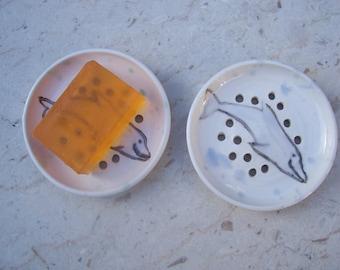 dolphin soap dish