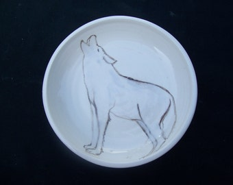 Howling Wolf Cereal bowl