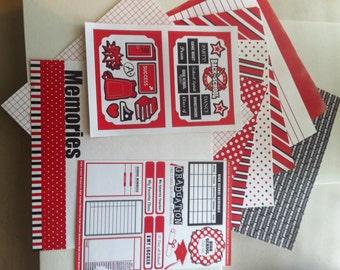 Red High School Graduation Memories Kit