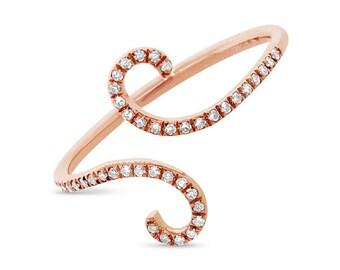 Beautiful Diamond Gold Ring BXSC55001662Z7