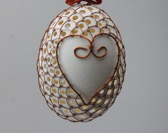 Copper Wire Wrapped Easter Eggs