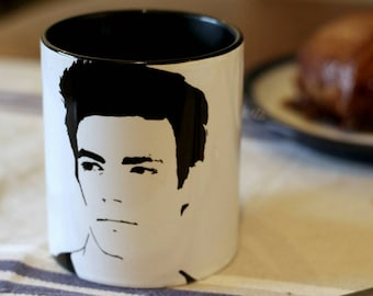 Grant Gustin, The Flash, Barry Allen, Glee, A mothers nightmare, Hand Printed cup.