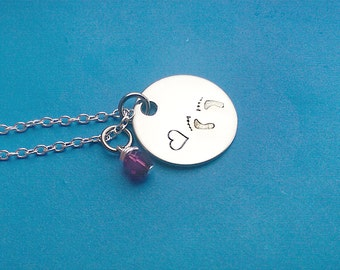 Baby Loss Necklace - Infant Loss - Miscarriage - Baby Memorial - Memorial Necklace - Miscarriage Jewelry - Sympathy Keepsake - Infant