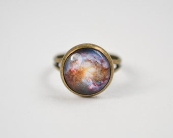 Galaxy Ring, Universe Ring, Nebula Ring, Space Ring, Space Jewelry, Gypsy Ring, Nerd Jewelry, Astronomy Ring, Planetarium Jewelry