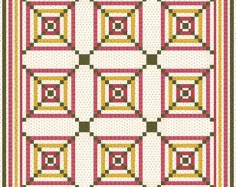 Primitive Gatherings Square Dance Quilt Pattern