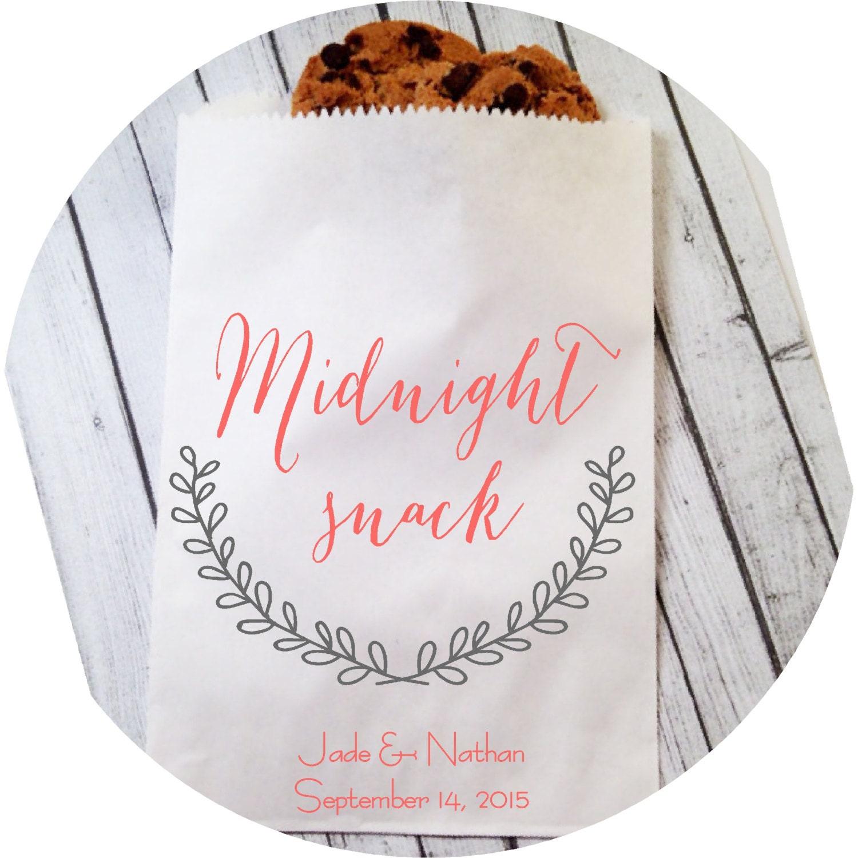 wedding cookie bags candy buffet sacks custom wedding