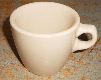 Vintage Cup, Inca Ware, Tan, Shenango China, Restaurant Ware, Mug, Cafe Ware, Barware