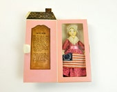 Bicentennial Betsy Ross Doll, Hallmark, New in Box, 1976