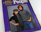 Hey John Lennon Fans, Hey Beatles Fans,  People Magazine - Tribute to John Lennon December, 1980 Issue  #16