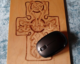 Celtic Cross Mouse Mat