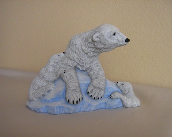 Ceramic Polar Bear