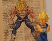 Dragon Ball Z Majin Vegeta Dictionary Art