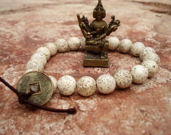 Mala Beads Bracelet, Mala Bracelet, Wrist Mala, Mala, Healing Bracelet, Spiritual Jewelry, Prayer Bead Meditation Yoga Bracelet, For Him Her