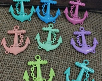 20pieces 30x27mm  anchor charm