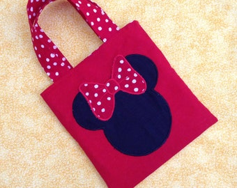 Minnie Ears Tote and Crayon Caddy