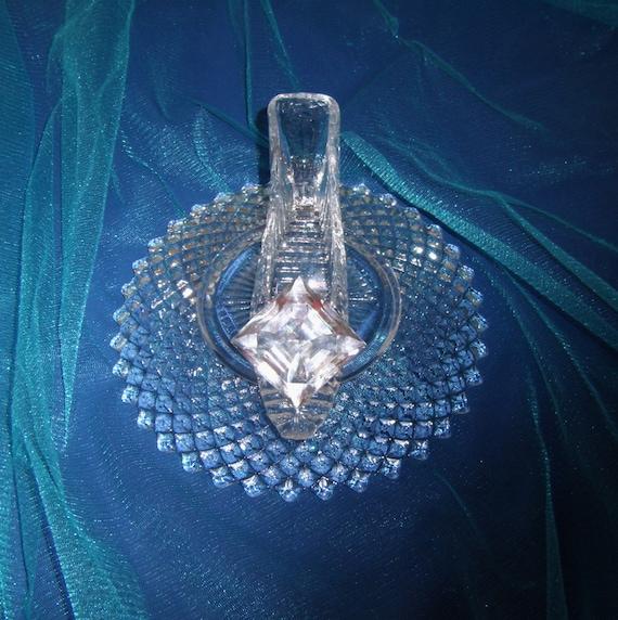 Royal princess cinderella glass slipper with oleg cassini
