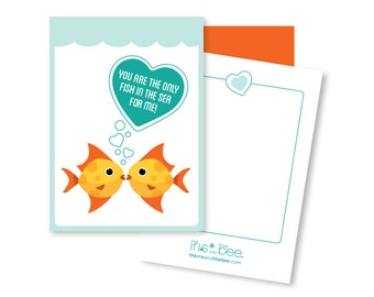 Only Fish for Me ~ mini card