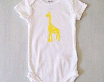 Baby GIRAFFE onesie tiny kids clothing