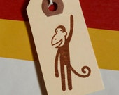 Brown Monkey To and From Gift Tags- 25 pack