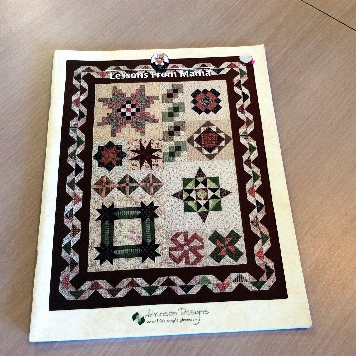 Lessons from mama quilting magazine type book patchwork for Patchwork quilt book