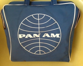 Vintage pan am bag