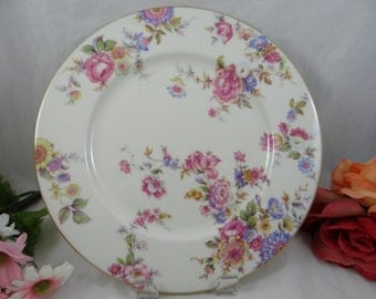 "1950s Castleton China  ""Sunnybrooke"" Dinner Plate - Made in the USA - 5 available"