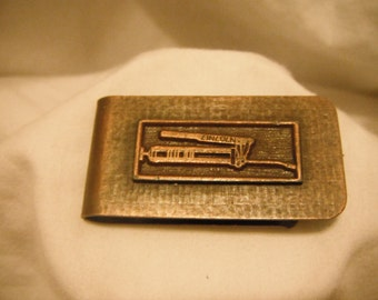 Vintage Lincoln emblem money clip