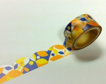 Material Michemon  Tokiiro series Masking Tape / hirari MM-MK-016  / 20mm x 5m
