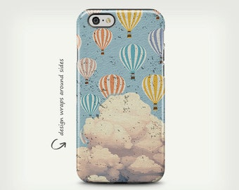 Hot Air Balloon, iPhone 6s Case, iPhone 6 Plus Case, iPhone 7 Plus, iPhone SE Case, iPhone 7 Case, Samsung Galaxy Cases, Galaxy S8 Case