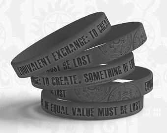 Equivalent Exchange Jelly Bracelet