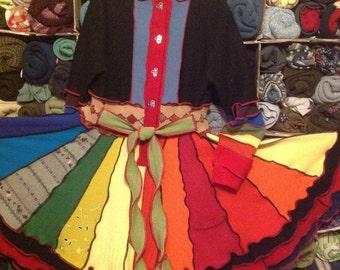 Katwise Inspired Upcycled Sweater Coat