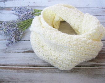 Knit Infinity Scarf | Fall Scarf | Loop Scarf | Crochet Circle Scarf | More Colors Available